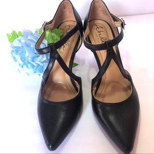 Abella black dress shoes